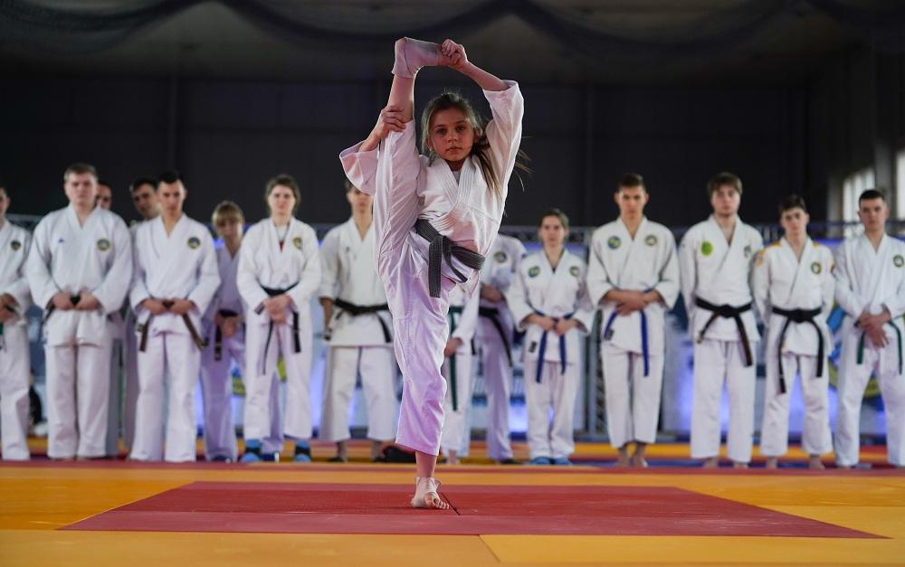 На Чемпионате Украины по рукопашному бою соревновались сильнейшие спортсмены