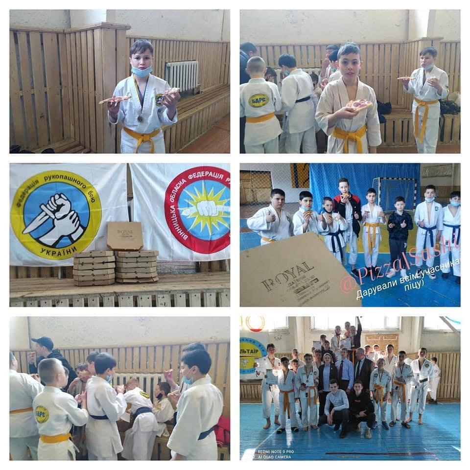 Состоялся чемпионат Винницкой области по рукопашному бою среди юношей, юниоров и девушек