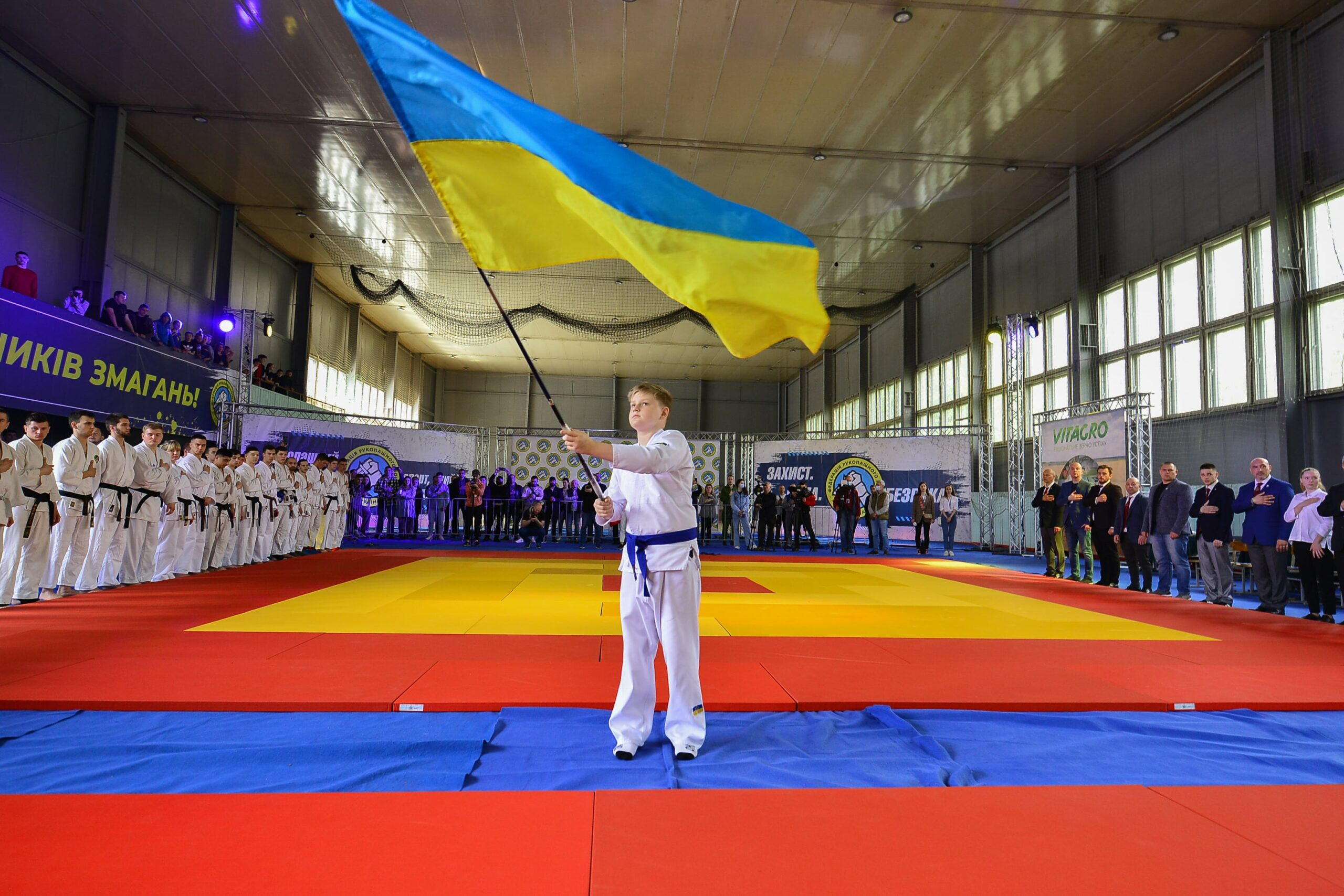 The Cup of Ukraine and the Championship of Ukraine in hand-to-hand combat among juniors was held