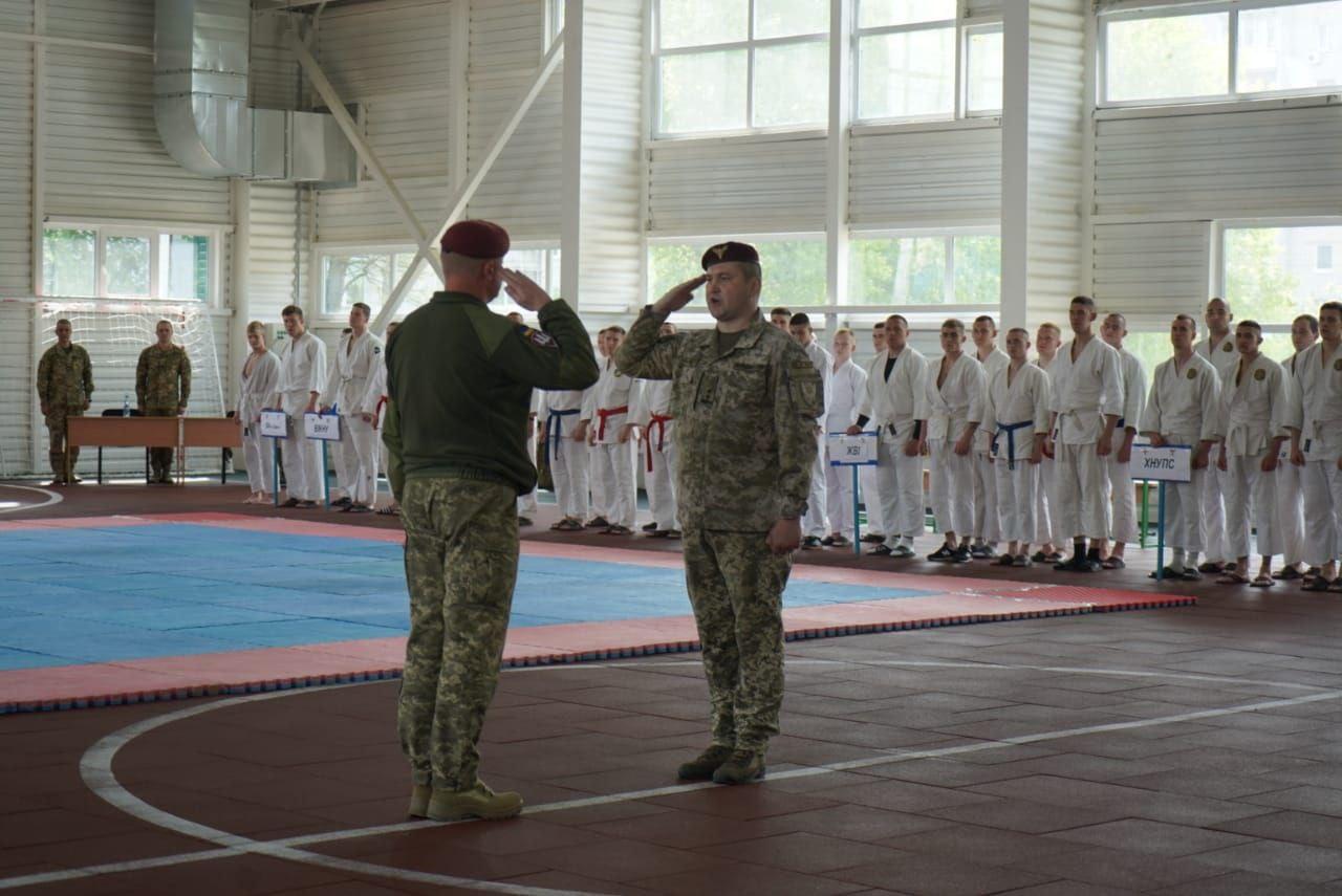 В Житомирі відбувся всеармійський турнір з рукопашного бою