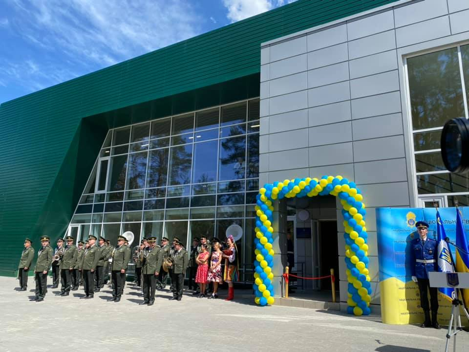 Yurii Radchenko took part in opening of the sports and recreation complex of the National Guard of Ukraine