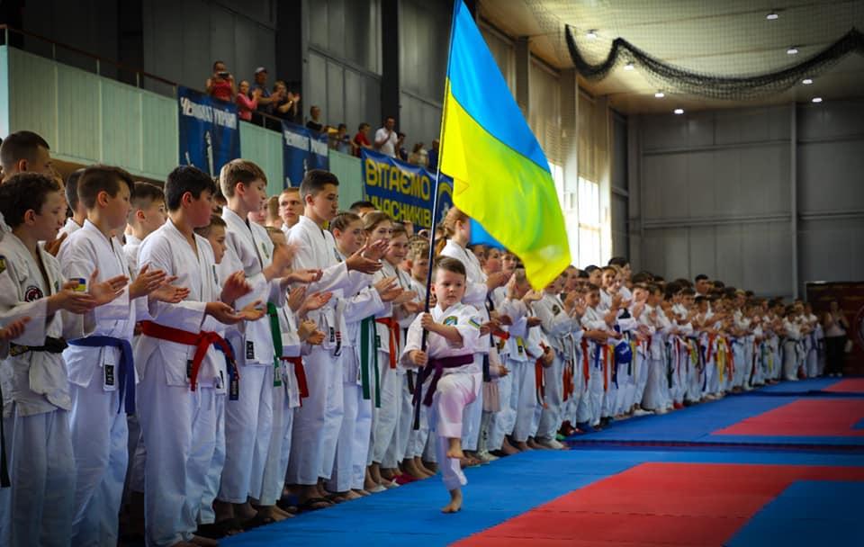 Торжественное открытие Чемпионата Украины среди юношей по рукопашному бою