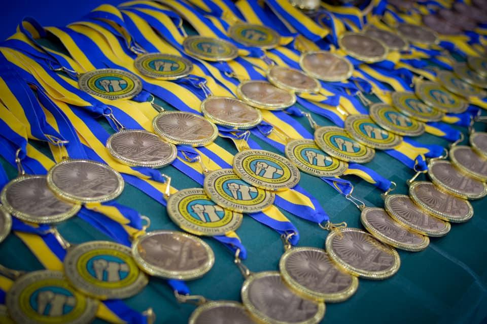 Чемпионат Украины среди юношей по рукопашному бою. Награждение