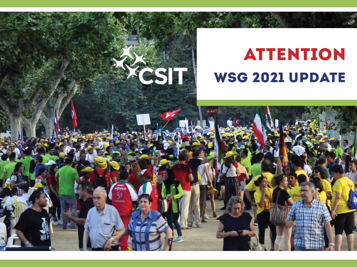 CSIT has to cancel the World Sports Games 2021