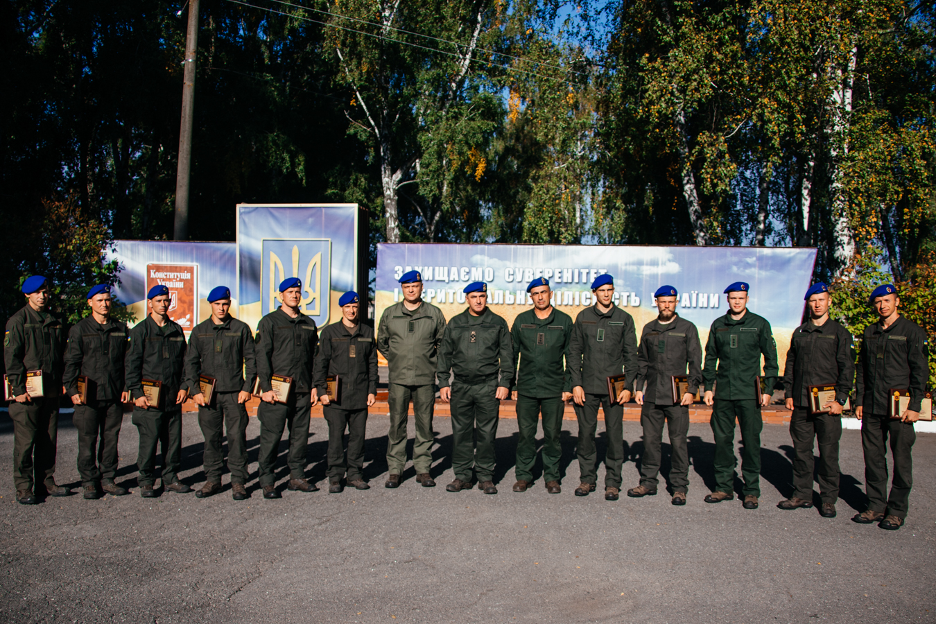 Qualification exam of guards for the right to wear a beret with honors – a test in hand-to-hand combat