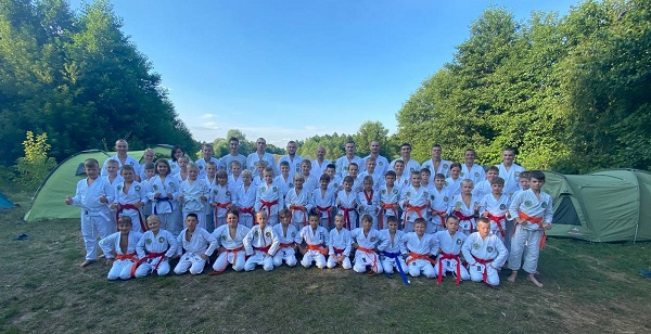 Юные рукопашники из Чернигова прошли учебно-тренировочные сборы