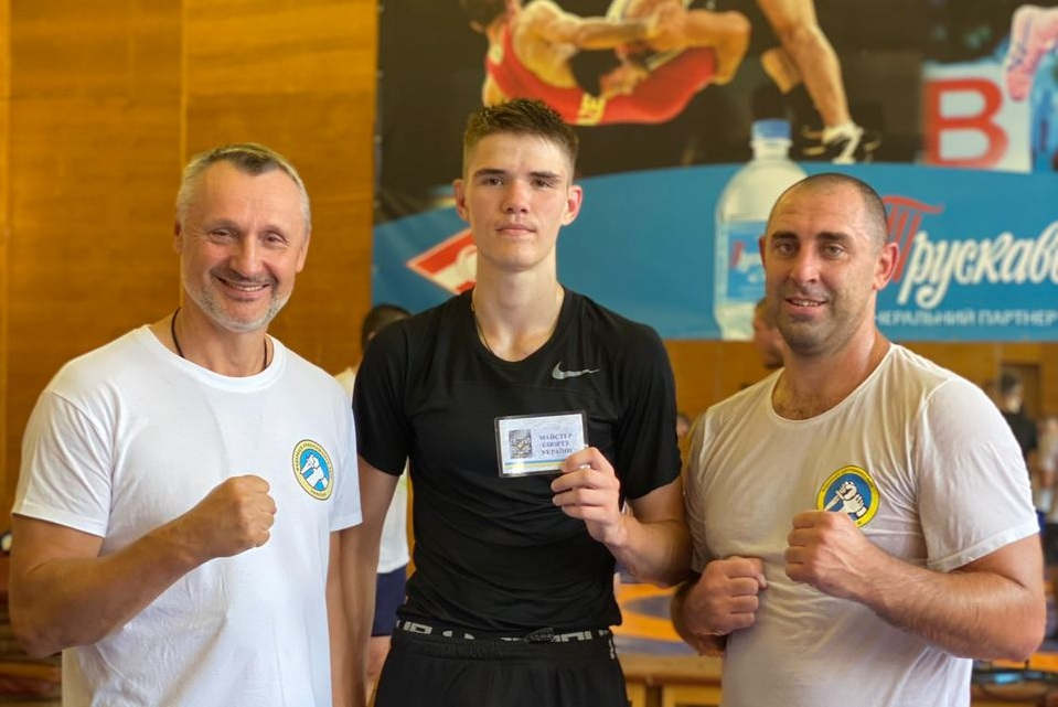 Athlete from Chernivtsi became a Master of Sports of Ukraine in hand-to-hand fighting