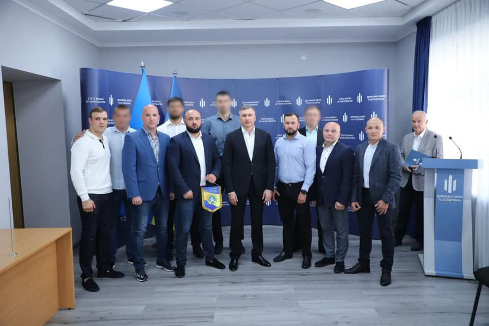 The State Bureau of Investigation honoured the winners of the Cup of the President of Ukraine in Hand-to-Hand Combat